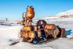 Dieselmotorgenerator Arkivfoton