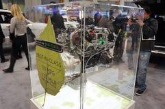 Dieselmotorjackett arkivbild