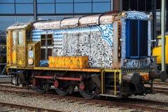 Dieselrangierlokomotive NS-Klasse 600 Stockbilder