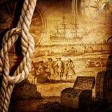 Abenteuergeschichtenhintergrund Lizenzfreies Stockfoto