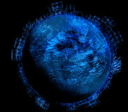 Dieser Planet ist - #1 im Bau Stockbilder
