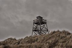 Dieser Wachturm ist in Ferrol, Spanien Stockbilder