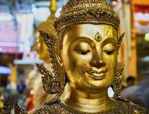 Dieses Bild ist über Glockenbuddha-Statur, Bangkok Thailand Lizenzfreie Stockfotos