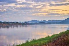 Dieses Bild ist über schöne Landschaft, kahn Thailand Lizenzfreies Stockbild