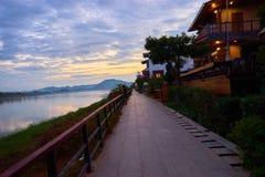 Dieses Bild ist über schöne Landschaft, kahn Thailand Stockfotos