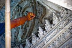 Dieses Bild ist über Stuckarbeit, Thailand Lizenzfreie Stockfotos