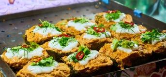 Dieses Bild ist über thailändischen Nachtisch, Bangkok Thailand Lizenzfreie Stockfotografie