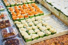 Dieses Bild ist über thailändischen Nachtisch, Bangkok Thailand Stockfotografie