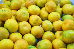 Dieses Bild ist im Markt, Thailand ungefähr orange Stockfoto