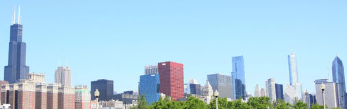 Dieses ist Chicago Stockfoto