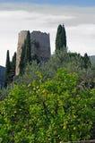 Dieses ist das so genannte Cicero-` s Grab in Formia Italien Stockbild