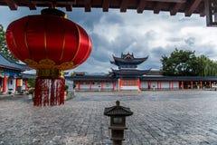 Dieses ist die Shenzhen xixiang Park-Antikegebäude Stockbild