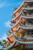 Dieses ist die Shenzhen xixiang Park-Antikegebäude lizenzfreies stockfoto