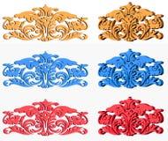 Dieses ist ein Modell von dekorativen Gegenständen Lizenzfreie Stockfotografie