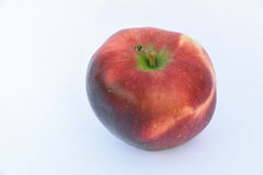 Dieses ist ein roter Apfel Stockbild