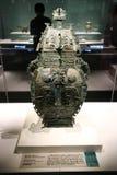 Dieses ist eine archäologische Entdeckung von Einzelteilen in den alten chinesischen Kaiserpalästen stockfoto