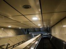 Dieses ist eine Rolltreppe Stockfotografie