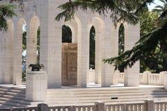 Janiculum Ossuary-Mausoleum, Rom, Italien Stockbilder