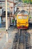 dieslowska elektryczna lokomotywa Zdjęcie Royalty Free
