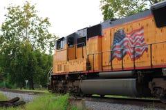 dieslowska lokomotywa Zdjęcie Royalty Free