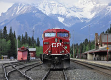 Dieslowska lokomotywa. Obraz Stock