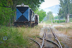 Dieslowska lokomotywa Zdjęcia Royalty Free