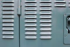 Dieslowskiej lokomotywy drzwi Zdjęcie Royalty Free