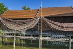 Diessen no lago Ammersee, Baviera Foto de Stock Royalty Free
