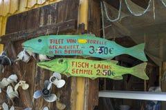 Diessen no lago Ammersee, Baviera Fotografia de Stock Royalty Free