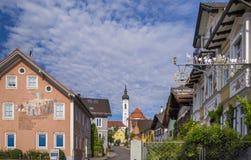 Diessen sur le lac Ammersee, Bavière Images libres de droits