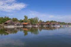 Diessen sur le lac Ammersee, Bavière Photos stock