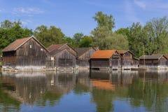 Diessen sur le lac Ammersee, Bavière Images stock