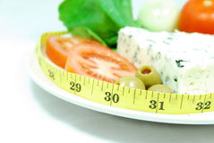On diet Royalty Free Stock Photos