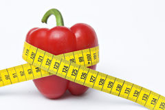 Diet. Red vegetable, healthy food, diet Royalty Free Stock Photography