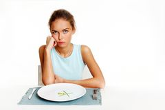 On a diet Royalty Free Stock Image