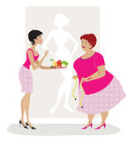 Diet advice royalty free illustration