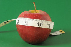 Diet Apple Royalty Free Stock Photo