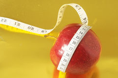 Diet Apple Royalty Free Stock Image