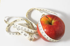 Diet Apple Royalty Free Stock Photos