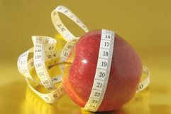 Diet Apple Royalty Free Stock Images