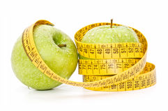 Diet apples Royalty Free Stock Photo