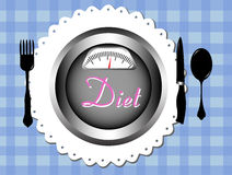 Diet background Royalty Free Stock Photography