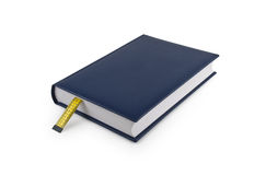 Diet book with bookmark made of tape measure Royalty Free Stock Photography
