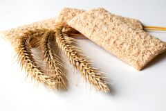 Diet Bread And Rye Ears Royalty Free Stock Photo