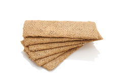 Diet bread bran and wheat germ Royalty Free Stock Photography