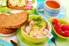 Diet breakfast Stock Photography