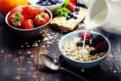 Diet breakfast Royalty Free Stock Images