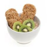 Diet breakfast isolated Stock Photos