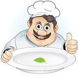 Diet chef stock photography