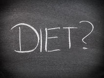 Diet choice Royalty Free Stock Photography